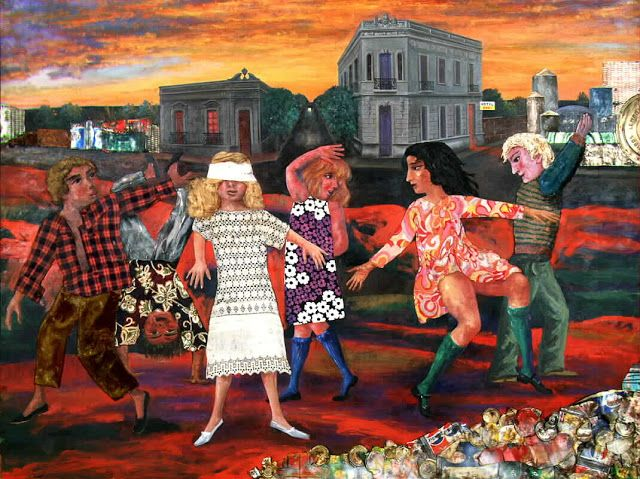 La gallina ciega, 1973  by Antonio Berni
