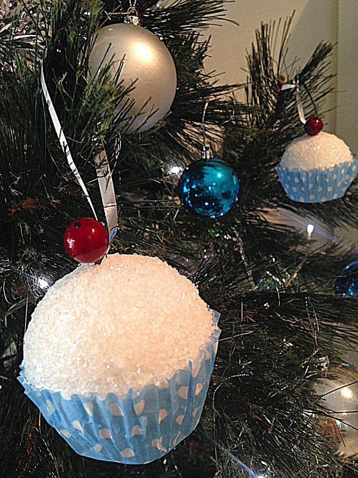 Cupcake Christmas Decoration