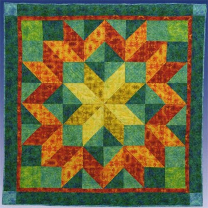 Quilting New Patterns : Carpenters wheel Quilting Pinterest