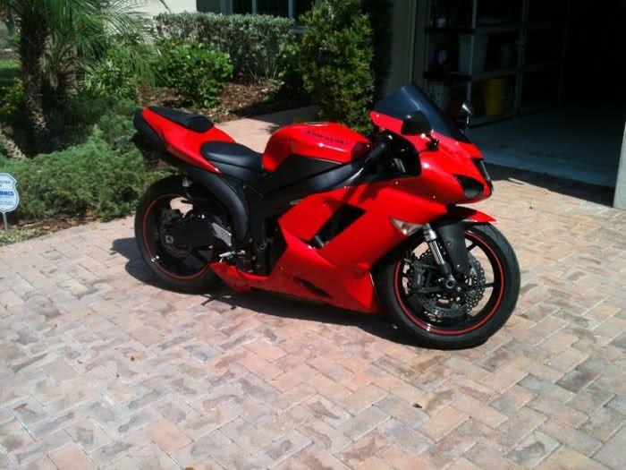 Kawasaki Ninja R Passion Red  Fairing