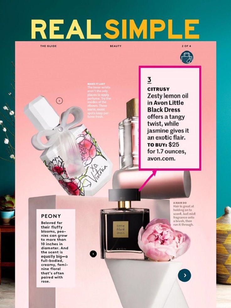 Little Black Dress Fragrance In Real Simple Magazine Avon Avon