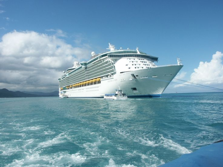 Royal Caribbean Ship on the Sea