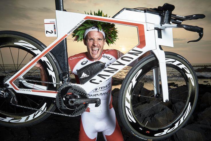 The new Ironman World Champion Jan Frodeno and his Speedmax CF SLX © Felix Rüdiger / letsmakeaplan.de