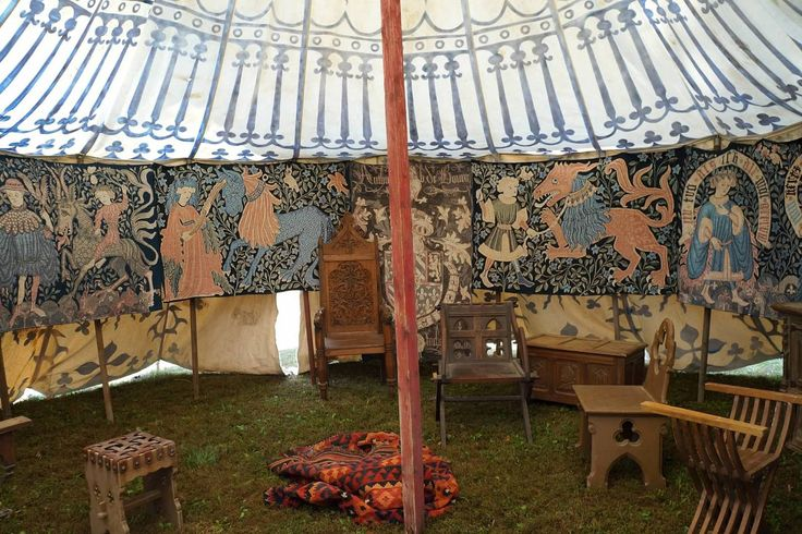 Tent at Days of Knighs event.    Courtesy  https://daysofknights2013.shutterfly.com/4