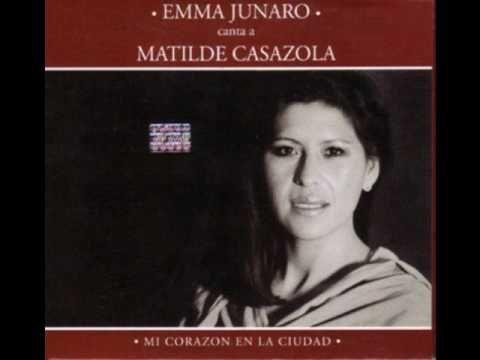 Como un Fueguito - Emma Junaro camta a Matilde Casazola