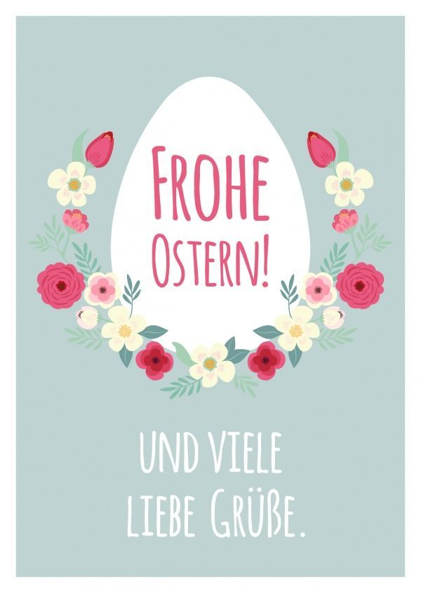 Frohe Ostern & viele liebe Grüße | Zitate & Inspirationen | Pasqua