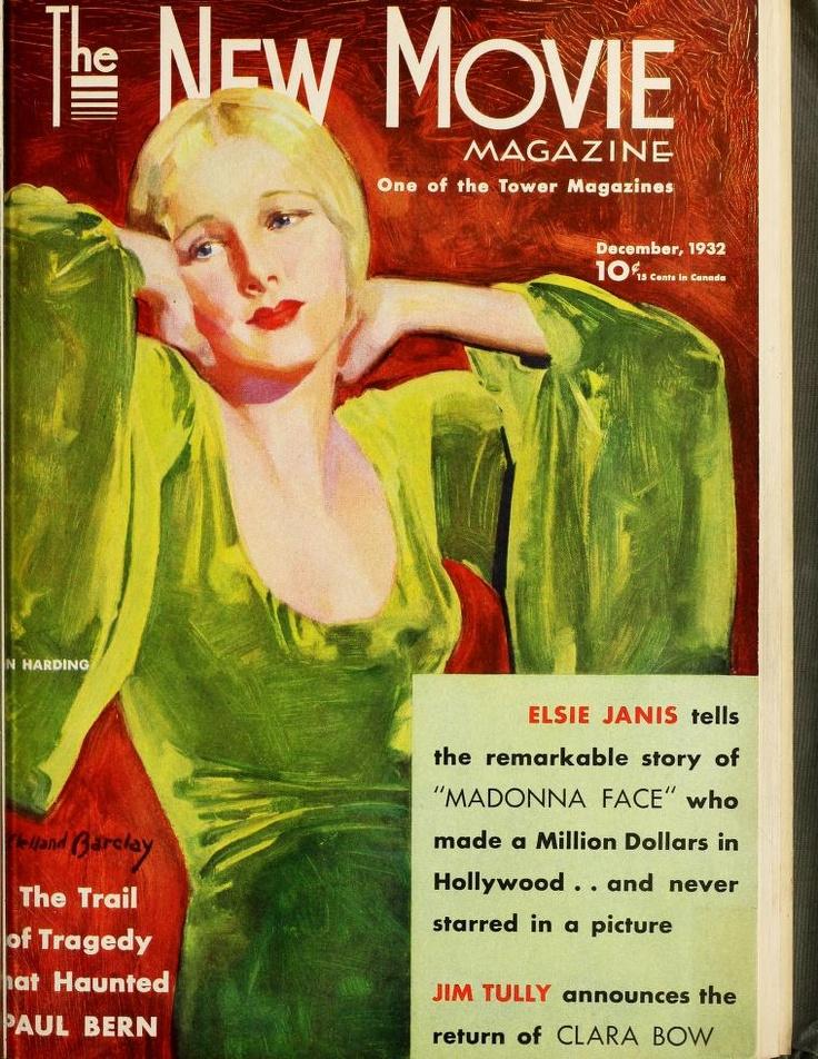 Ann Harding The New Movie Magazine