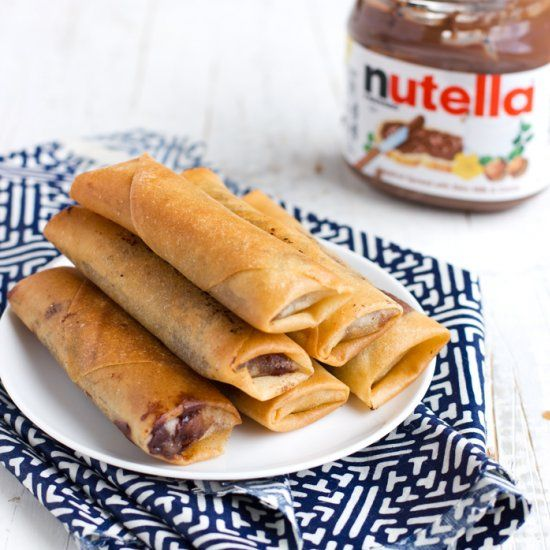 Best 25 asian street food ideas on pinterest street food thai nutella banana lumpia egg roll a twist on a popular street food in the philippines read recipe by foodgawker forumfinder Choice Image