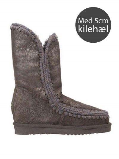 Nye støvler fra Mou på vej hjem! <3 Mou Wedge med 5cm kilehæl.
