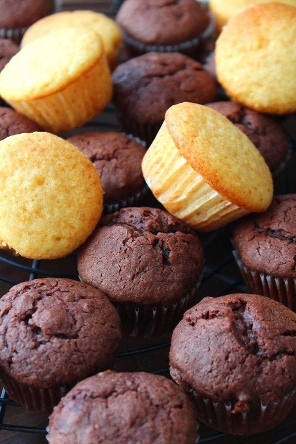 オイルで作るプチ・カップケーキ。チョコ。 by 栁川かおり | レシピ ...