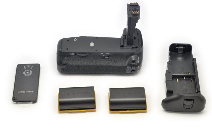 Ramozz@ 2x LP-E6 + Grip BG-E14 Batterie Multi Power pour Canon EOS 70D DSLR
