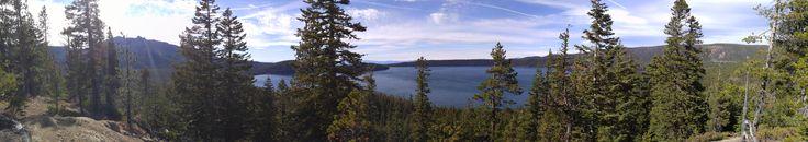 Paulina Lake Newberry National Volcanic Monument Oregon [15936x2816] [OC]