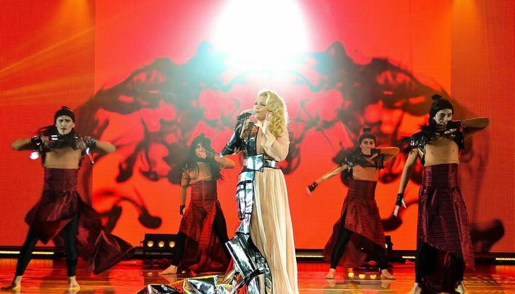 Cristina Scarlat won O melodie pentru Europa, the Moldovan NF, and is representing the country with 'Wild Soul'!