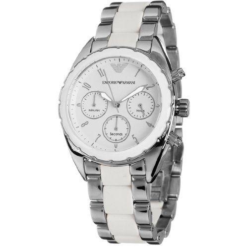 Armani Sportivo Chrono White Dial Women's watch #AR5940 GIORGIO ARMANI http://www.amazon.com/dp/B00BH1JC7S/ref=cm_sw_r_pi_dp_nMtOtb0CACCY1BDN