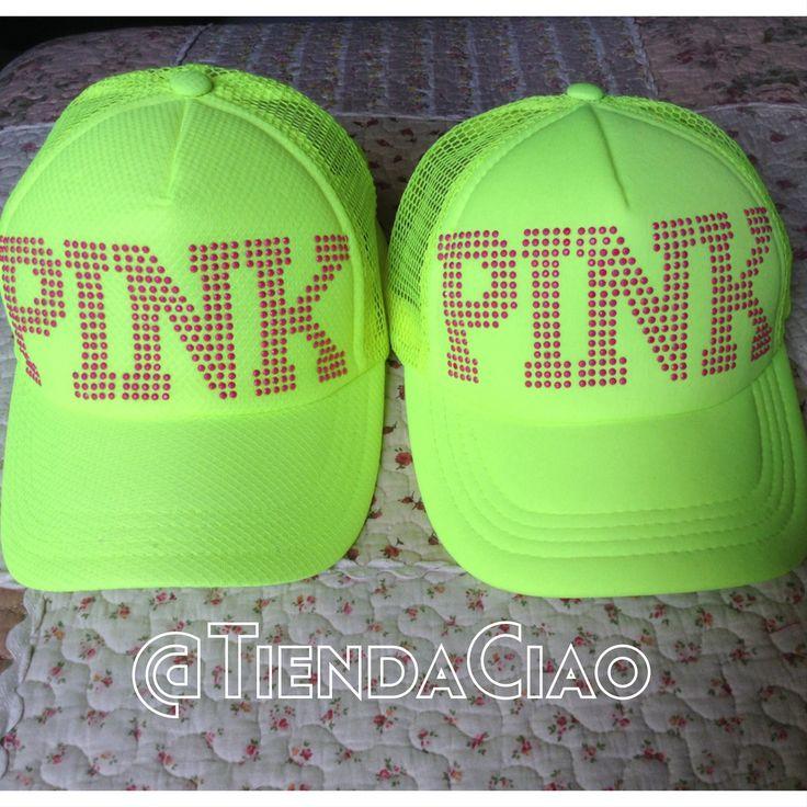 Nuevamente disponible. $20.000 c/u  #gorra #cap #pink #neon #domicilio #envios #colombia