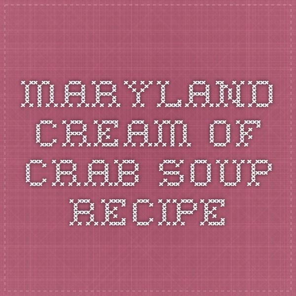 The 25 best maryland cream of crab soup recipe ideas on pinterest do it yourself has never tasted so good as with this creamy and smooth maryland favorite soup this is not maryland crab soup which is vegetable based solutioingenieria Gallery