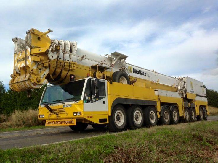 Mobile Crane Machine : Best images about mobiele krane on