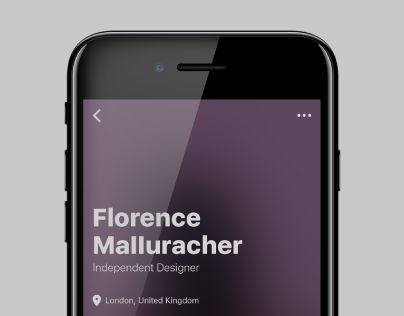 """Check out this @Behance project: """"User Profile Concept"""" https://www.behance.net/gallery/50244237/User-Profile-Concept"""