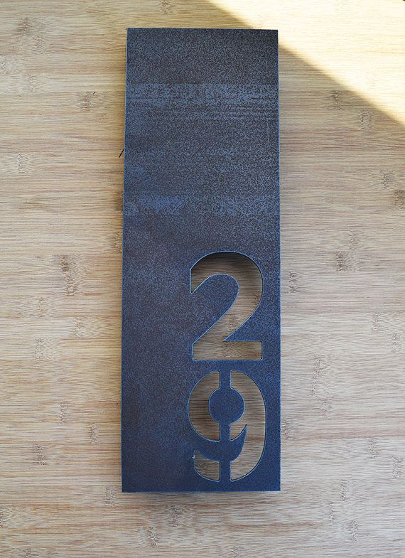 Best 25 house numbers modern ideas only on pinterest for Modern house numbers canada