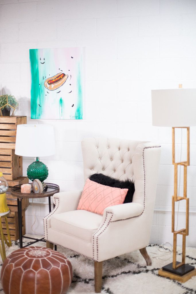 Mr. Kate Decorates with David Bromstad | David's final room! How colorful and creative is it?!