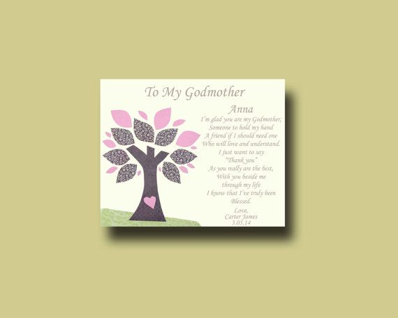 Gift For Godmother Godmother Gift Mothers Day Gift: 15 Best Wedding Gift For GRANDPARENTS From Bride & Groom