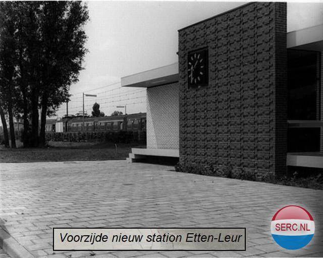 Station Etten-Leur (jaartal: 1970 tot 1980) - Foto's SERC