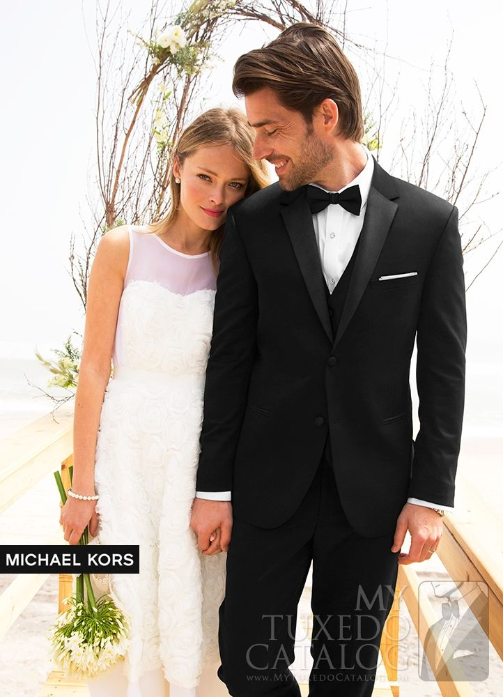 Black Desire Tuxedo Available For Rental From The Bridal Cottage