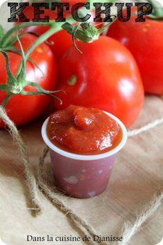 Ketchup maison {recette végétalienne sans gluten}