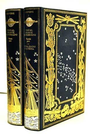 Viajes Extraordinarios, Tomos 1 Y 2: Veinte Mil Leguas De Viaje Submarino; Viaje Al Centro De La Tierra - Jules Verne comprar el libro en tu libreria online Buscalibre Chile