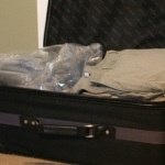 Quick tip – Packing empty space in a suitcase