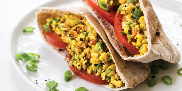Curried Chickpea Salad via @iquitsugar
