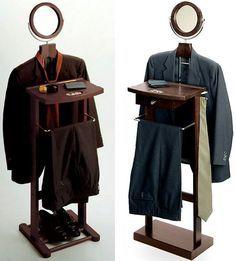 mens modern clothing | Strange Change: 3 Lifelike Men's Clothing Valet Suit Stands