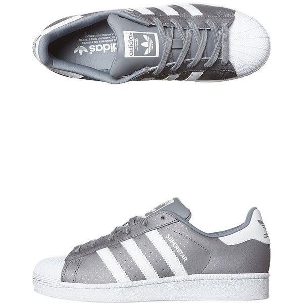 Adidas superstar scarpe da ginnastica grigia online