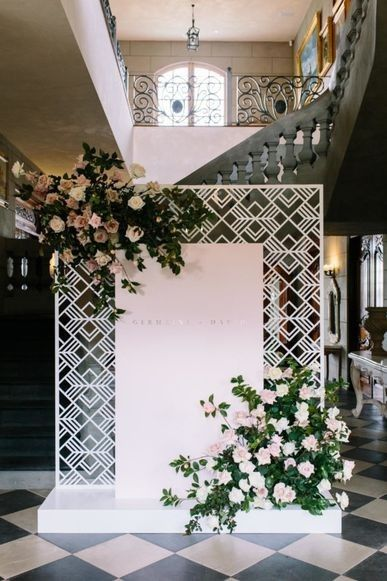 Inside a millennial pink Melbourne estate wedding: The bride enlisted the help of event stylists Fox & Mae, who helped her pull together her wedding day. The brief was millennial pink and metallic, a theme which ran through both the ceremony and reception.
