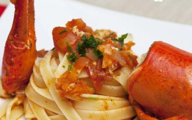 Ricetta per linguine all'astice #ricette #primi #astice #pesce #cucina
