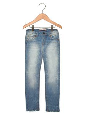 Calça Jeans Colcci Fun Bolsos Azul, bolsos localizados e fechamento por botão e zíper.Medidas: Cintura 50cm / Altura 70cm no tamanho 6.