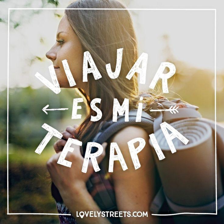 Viajar es nuestra terapia... ¿Y la tuya? #lovelystreets