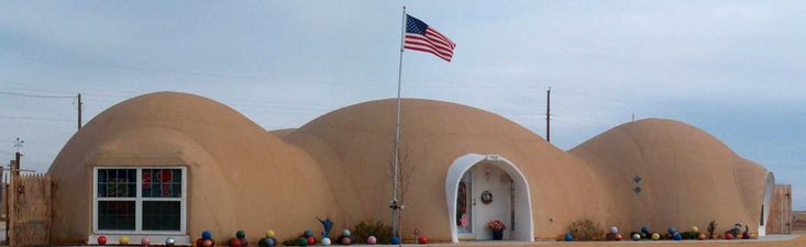 Monolithic Dome home in Shamrock, TX — In 2000, Shirley and Don Tuttle moved…