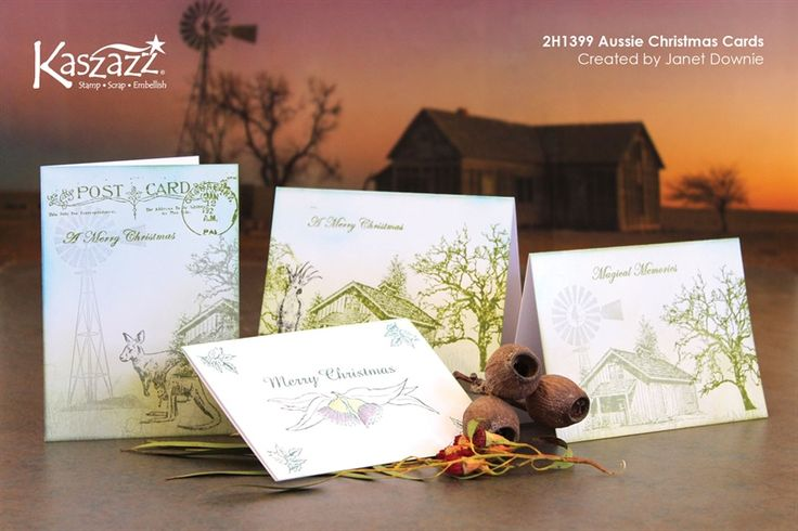 2H1399 Aussie Christmas Cards
