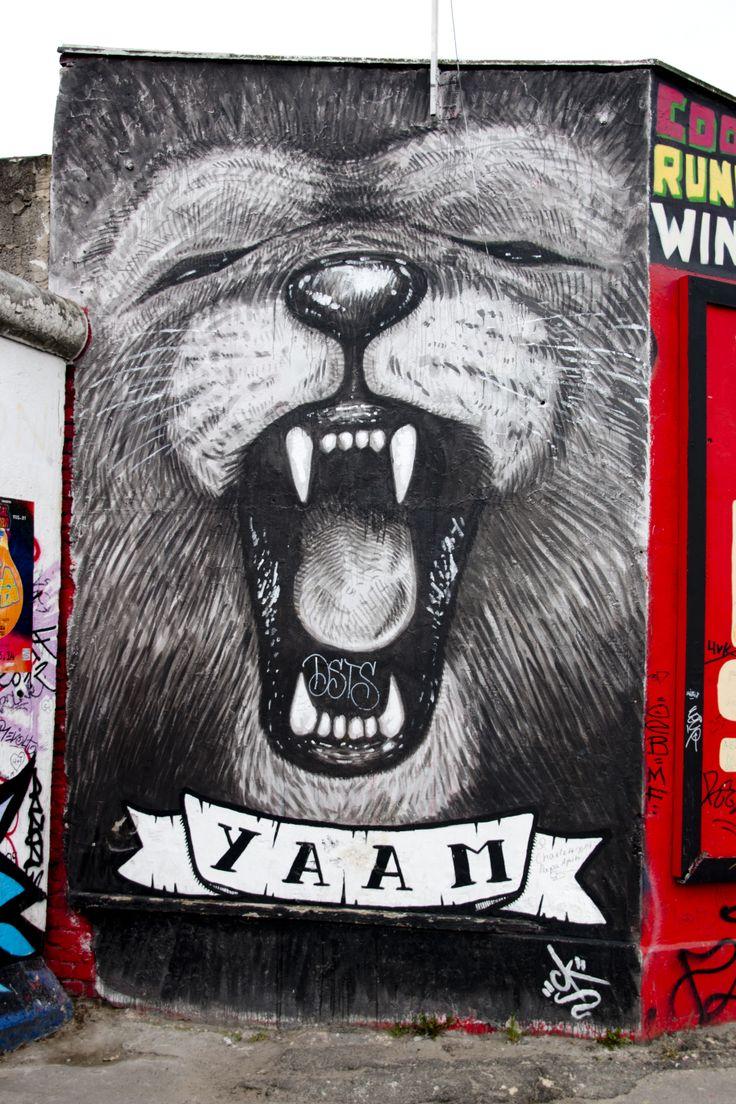 East side gallery Berlin 2014, Lion.