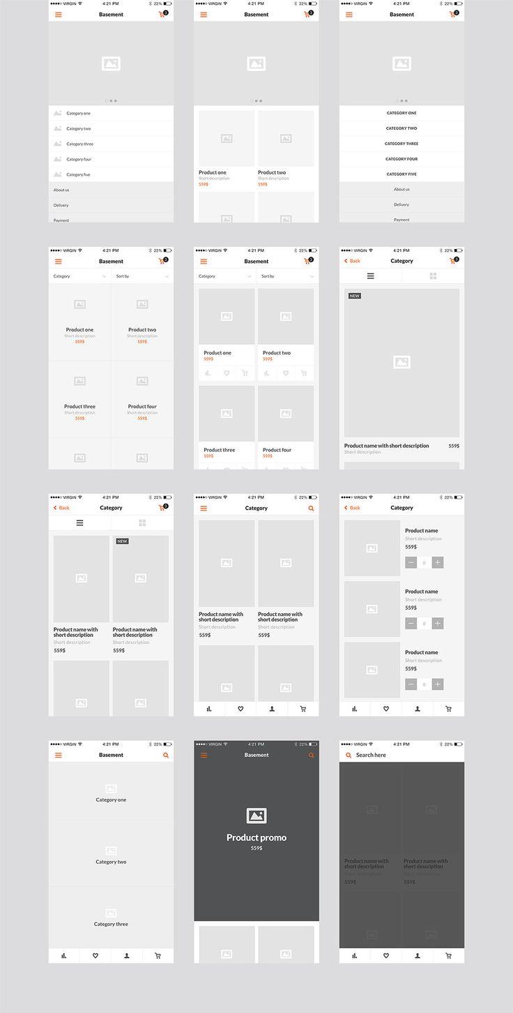 Basement iOS Ecommerce UI Kit