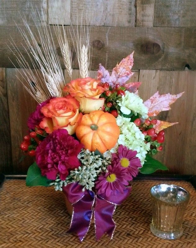 A Touch of Autumn by BloomNation local florist, Windmill Floral Expressions for $54.95: