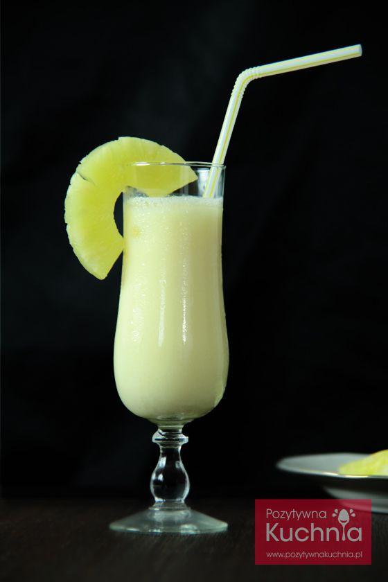 #Drink pina colada - #przepis krok po kroku  http://pozytywnakuchnia.pl/pina-colada/  #kuchnia