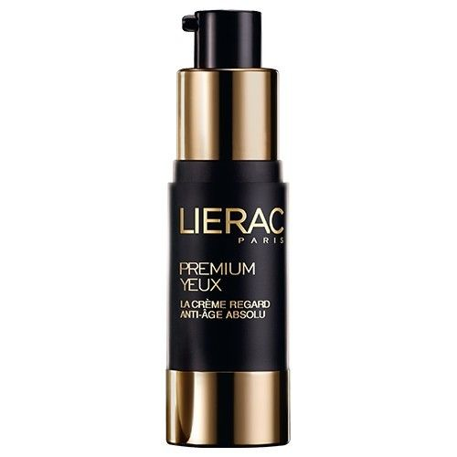 Lierac Premium Eyes Cream is an anti-aging eye cream that corrects wrinkles and smoothes and moisturizes the skin.