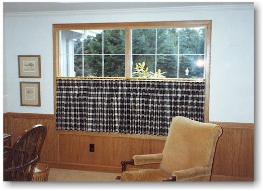 Living Room. Blind Alley Casual Window Treatments Portfolio Cafe Curtains  For Living Room. Cafe Part 85