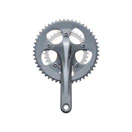 Platos y bielas Shimano Tiagra FC-4650 50x34 10v 170mm | Bicicentral.http://www.adertocycles.ie
