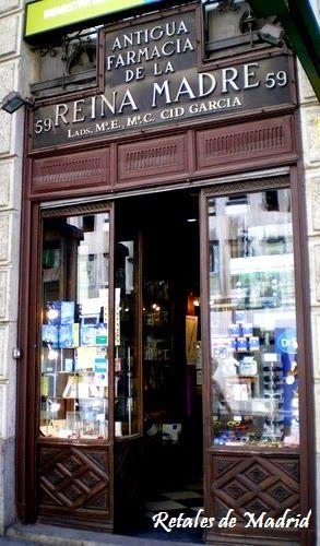 Farmacia de la Reina Madre - La más antigua de Madrid Spain
