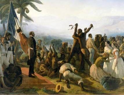 histoire de l'esclavage et de l'abolition dans les colonies  francaises