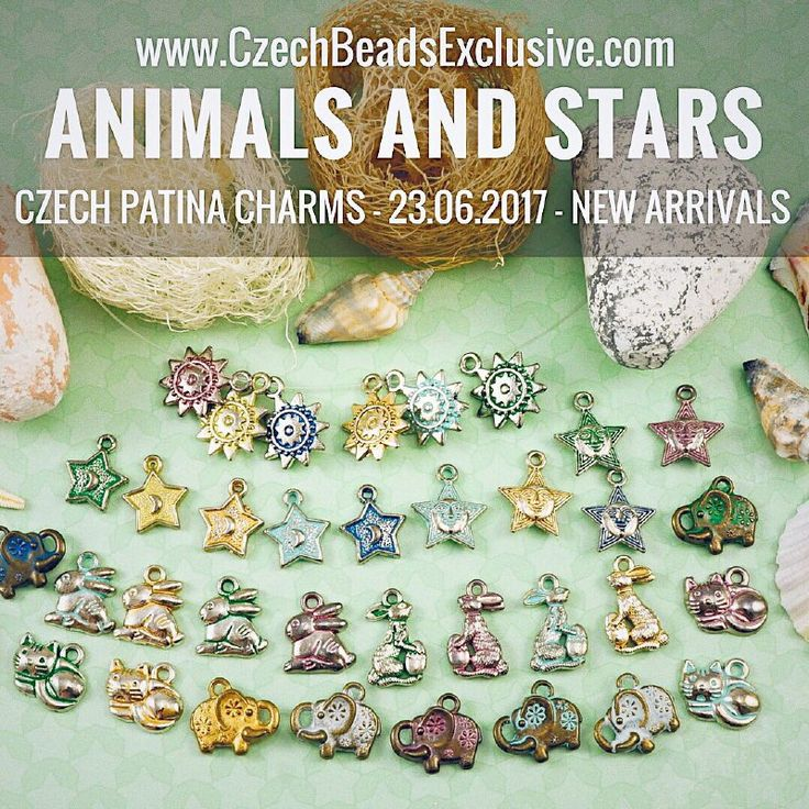 Today we are releasing new limited edition collection – Czech Patina Animals And Stars Charms. We are sure, that they will definitely help your jewelry looks more stylish and unusual. Animals And Stars Collection includes 8 the most popular Czech Patina finishes: Matte Gold, Silver and White, Turquoise Blue and [...]