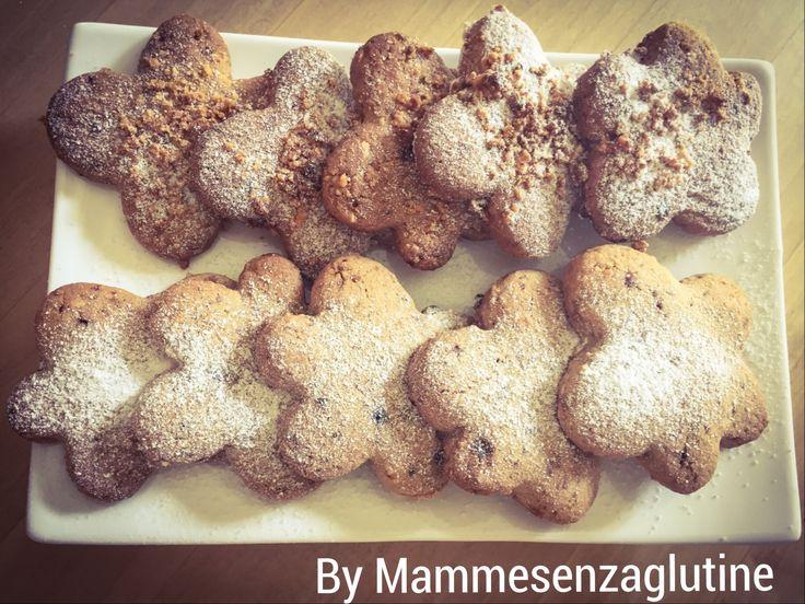Biscotti glutenfree alle nocciole con granella!